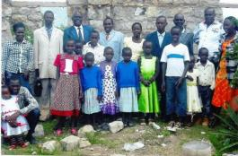 A SECTION OF MITAMBONI, UKAMBANI CHURCH WITH GENERAL SECRETARY ISAAC WEKESA IN BLUE SUIT1 001