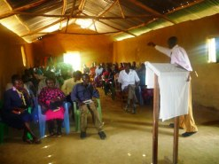 PASTOR IKAPEL SPEAKING AT IGARA DISTRICT YOUTH CONFERENCE LAST SATURDAY