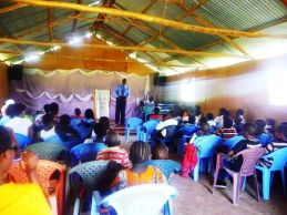 PST ROBERT TEACHING AT CHWELE ASSEMBLY YOUTH CONFERENCE
