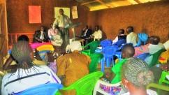 2017-7-19_Pastor Robert sharing at Bulondo GBF Church