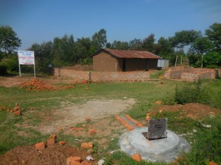 2017-7-5_HAND-DUG WATER BOREHOLE WELL AND NEW CHURCH CONSTRUCTION SITE AT NASYANDA GBF