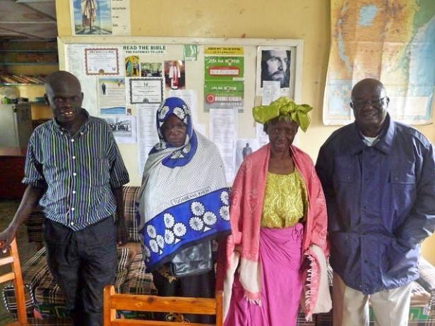 2018-5-23_BISHOP FRANCIS BUSHEBI WITH PASTOR DAVID, SISTERS ASHA AND MUBARAKA FROM UGANDA AND SOUTH SUDAN