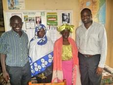 2018-5-23_PASTOR ROBERT BUSHEBI WITH PASTOR DAVID, SISTER ASHA AND MUBARAKA FROM UGANDA AND SUDAN