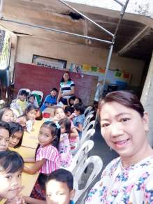 Feeding Kids in Caloocan City