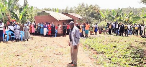 Attendance at Butieli Funeral