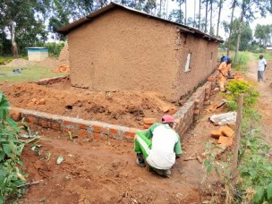 FROM MUD WALLED TO BRICKS WALLS