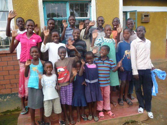 ORPHAN CHILDREN AT ORPHANAGE HOME